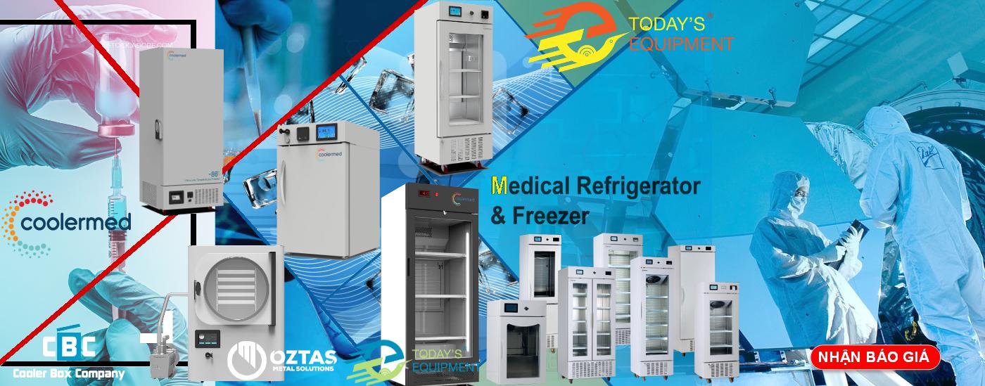 tủ lạnh bảo quản dược phẩm - vacxin - CoolerMed-công ty ngày nay độc quyền tại Việt Nam