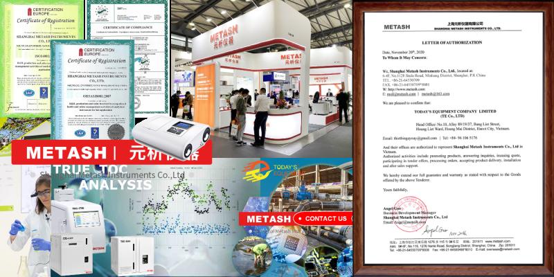 Giới thiệu hãng Metash và dải sản phẩm thiết bị phân tích ủy quyền chính thức cho công ty Ngày nay đại diện phân phối tại Việt Nam